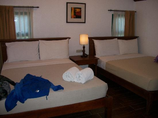 Talisay, : the bedroom had two double beds