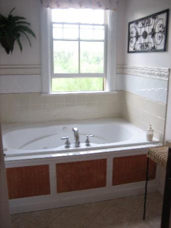 Rosehaven Inn Bed and Breakfast: our bathroom