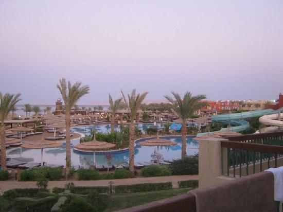 Coral Sea Holiday Village: view from block 6 overlooking main pool
