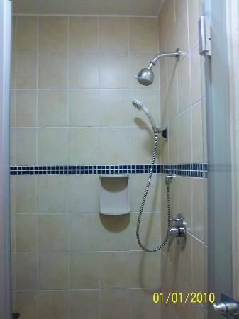 Nelspruit, Sydafrika: Basic shower
