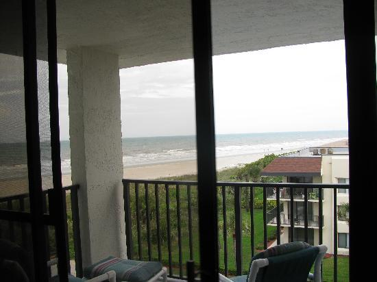 Cape Winds Resort: View from the couch 509