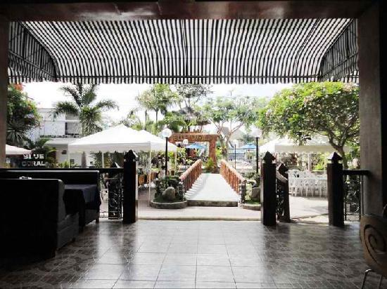 Blue Coral Beach Resort: view from the lobby