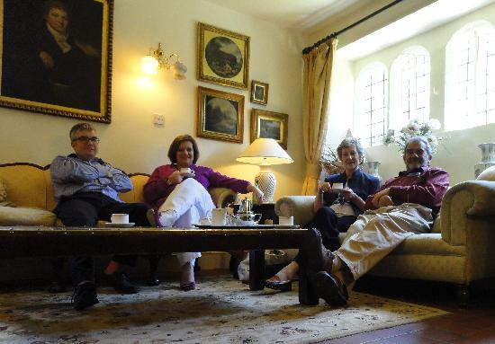 Biggin Hall Country House Hotel: ..and coffee after!