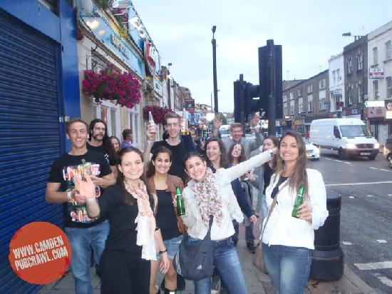 Camden Pub Crawl : The gang