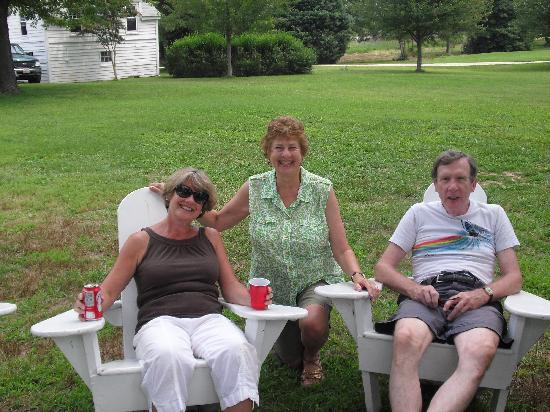 McDaniel, MD: My siblings and I in front of the Farmhouse
