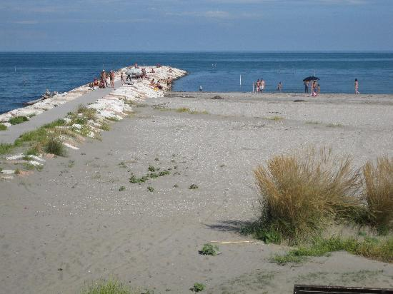Bed & Breakfast Ca' Noemi: The beach at Malomocco