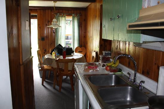 Schulte's Family Lodge: Kitchen