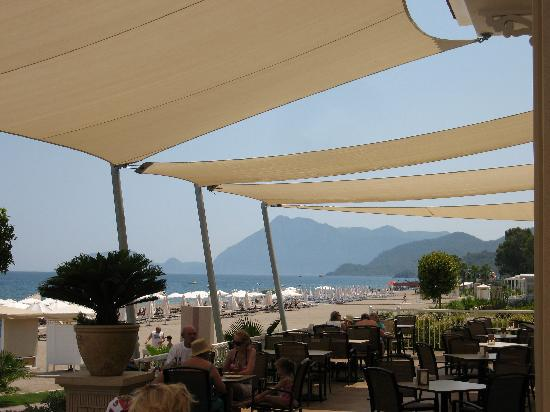 Gural Premier Tekirova: Beach snack restaurant