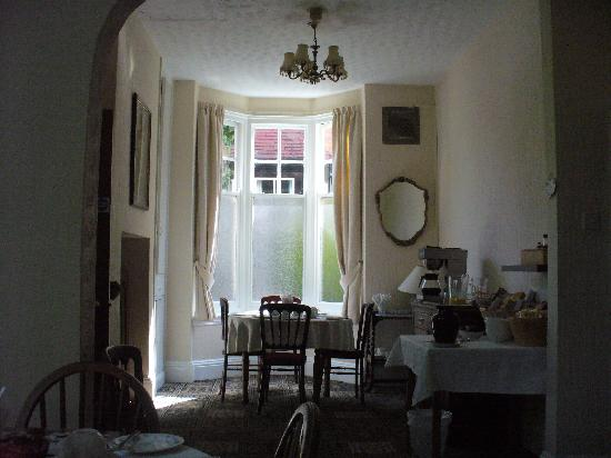 Elmdon Lodge: Breakfast area