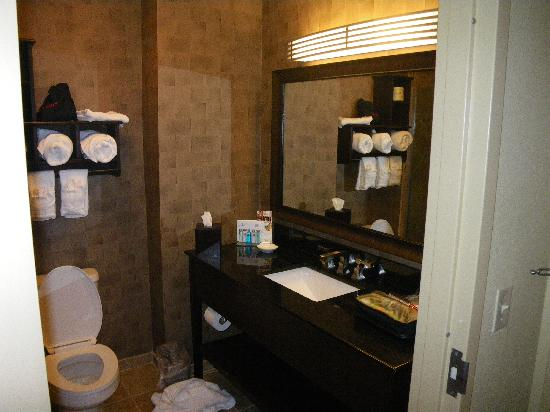 Hampton Inn &amp; Suites - Paso Robles: Nice Bathroom
