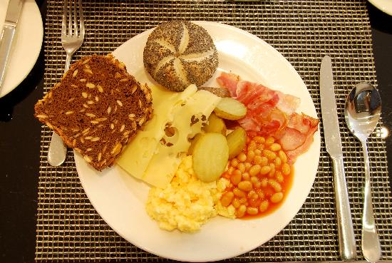 My plate at breakfast picture of design hotel josef for Design hotel josef prague tripadvisor