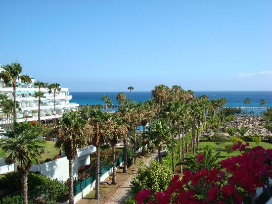Riu Palace Tenerife: The view from our balcony