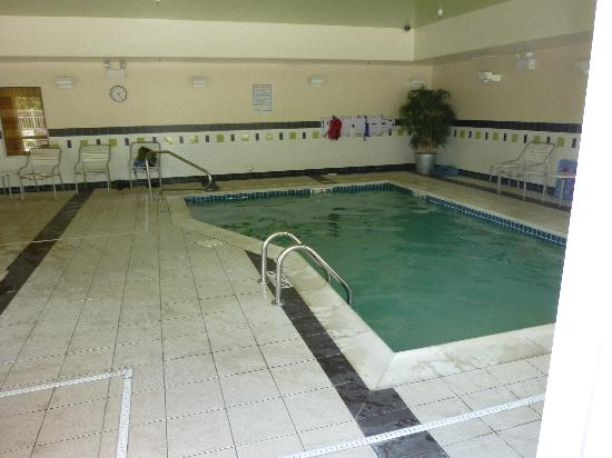 Fairfield Inn & Suites New Buffalo: Pool area