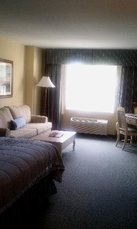 Hotel Rehoboth: the living room area
