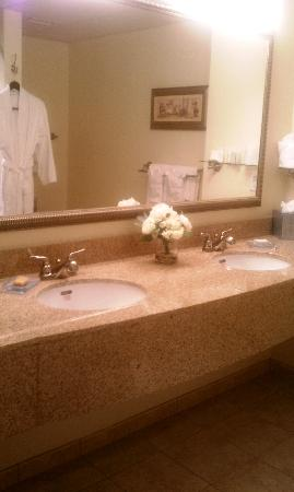 Hotel Rehoboth: the bathroom