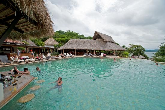 Golf von Papagayo, Costa Rica: Poolside at main pool