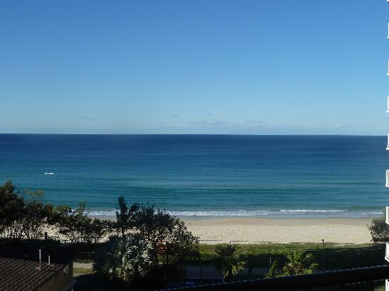 Broadbeach, Australie : Un-interupted views of the beach