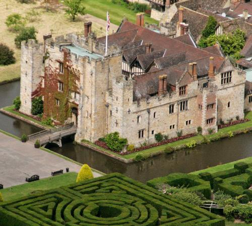 Hever, UK: Aerial View