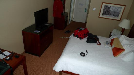 Hilton Garden Inn Blacksburg: Excuse our mess