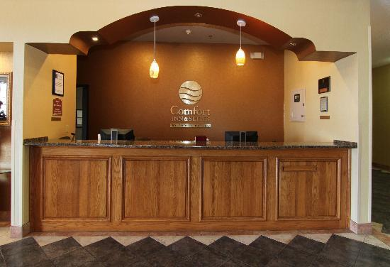 Comfort Inn & Suites Burnet: Reception
