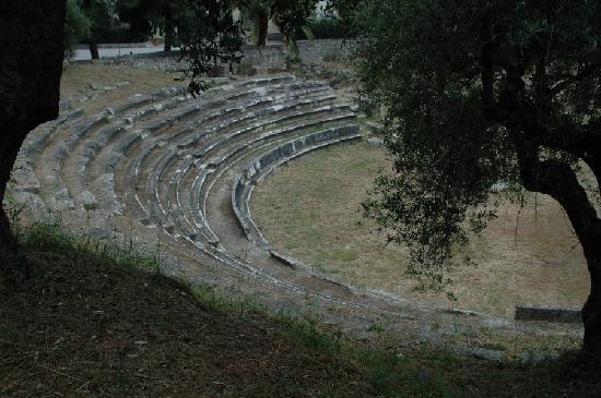 Gytheio, Griechenland: Gythion, antikes Theater
