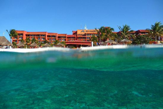 ‪‪Fiesta Americana Cozumel All Inclusive‬: Land and sea‬