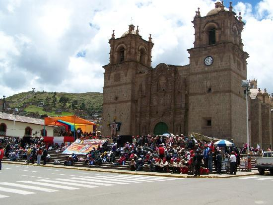 Puno, Peru: La catedral