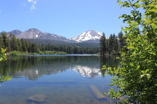 View From The Other Side Of Manzanita Lake Picture Of