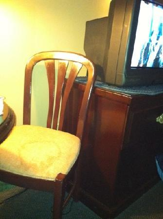 New Concord Inn: in room chair