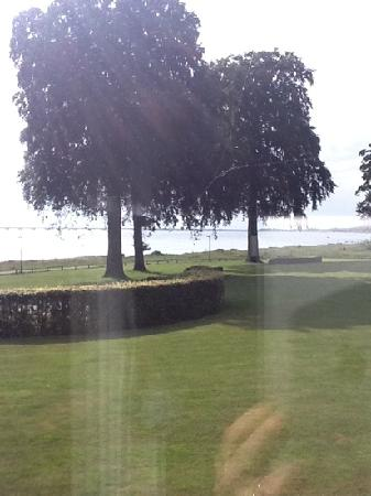 Nyborg, Denmark: view from our room!