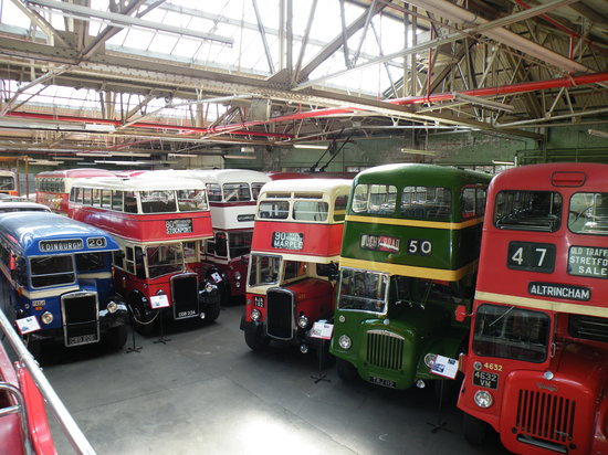 Manchester Transport Museum - Picture of Museum of Transport ...