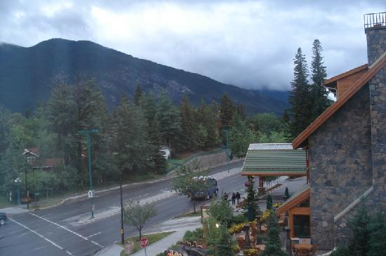 Banff Inn: View from our room