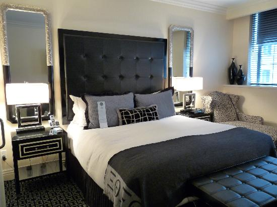 chambre principale photo de the muse hotel new york new. Black Bedroom Furniture Sets. Home Design Ideas