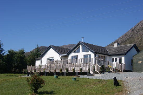 Allt a Choire B&B in the sunshine July 2011