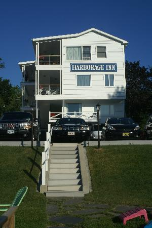 Harborage Inn on the Oceanfront: from the hotel&#39;s dock
