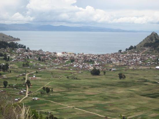 Copacabana, Bolivie : Vista del pueblo