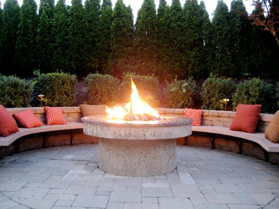 Outdoor Fire Pit Picture Of Stone House Warren