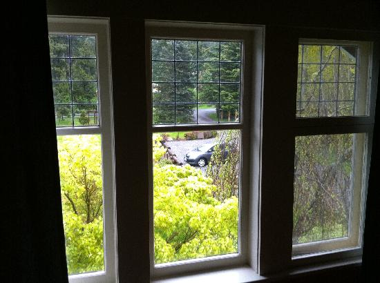 Kangaroo House Bed and Breakfast on Orcas Island: view from northern flicker sitting room