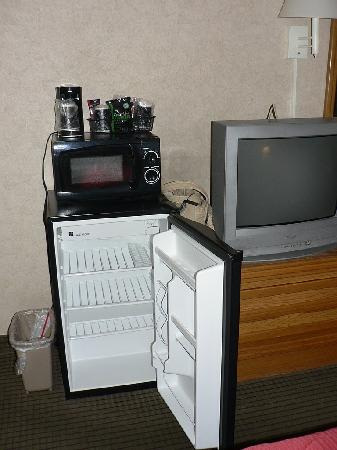 Quality Inn Durango: Microwave & fridge
