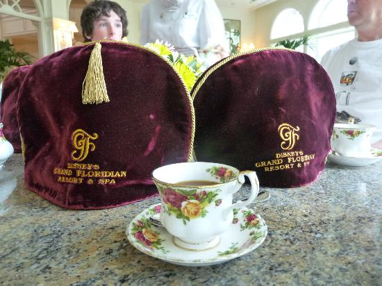 Afternoon Tea At The Garden View Tea Room Picture Of Disney 39 S Grand Floridian Resort Spa