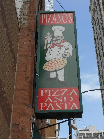 Chicago, IL: Pizano's Pizza - some of the best I have tasted!
