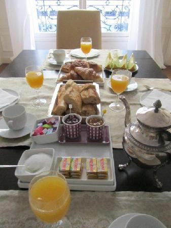 Bed and Breakfast VIP Champs Elysees : Petit déjeuner II