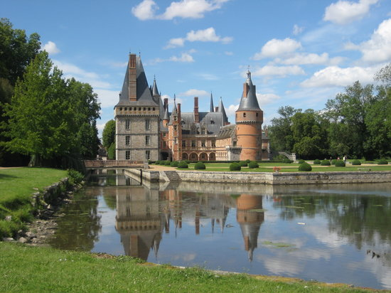 Chartres, Fransa: Castle of Maintenon
