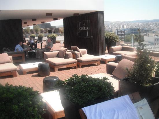 Roof Garden Picture Of The Met Hotel Thessaloniki