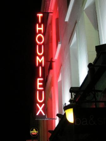 Hotel Thoumieux: View from the Street