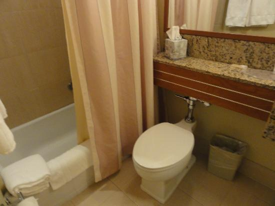 Bathroom - Picture of Courtyard by Marriott San Juan Miramar, San ...