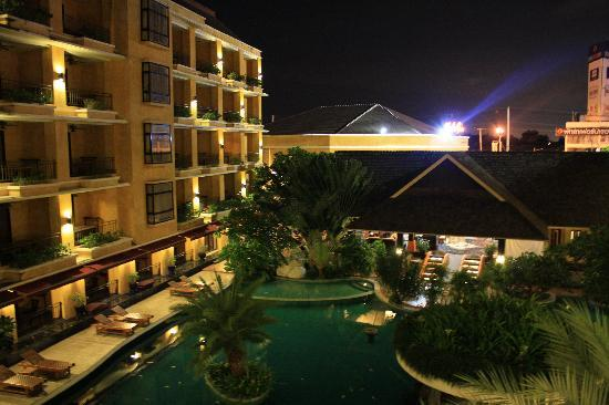 Mantra Pura Resort & Spa: The Hotel at Night