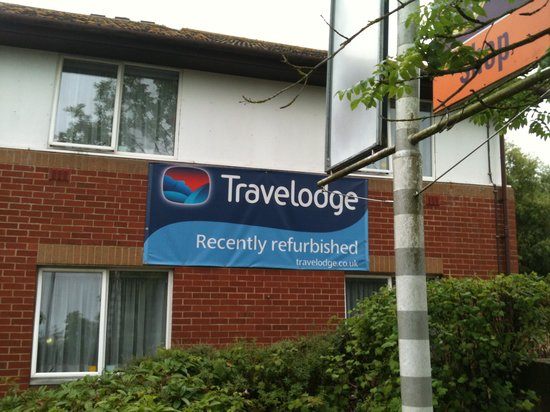 Travelodge Warminster: Recently refurbishment HA HA!!!