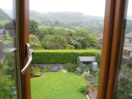 Eyam, UK: view from double room