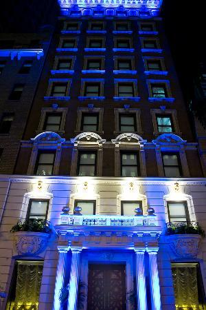 Hotel Exterior Wall Lights : Exterior Lighting - Picture of Sanctuary Hotel New York, New York City - TripAdvisor